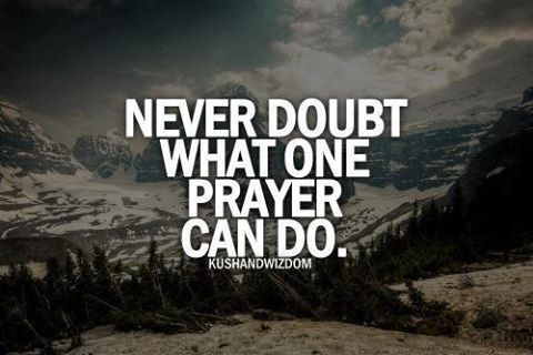 Never Doubt I