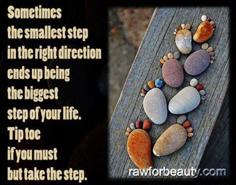 Tiny Steps in the Right Direction