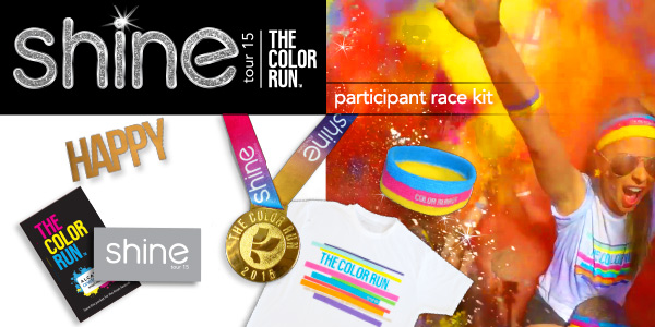 Color Run Race Packet